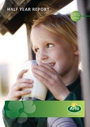 HALF YEAR REPORT - Arla Foods