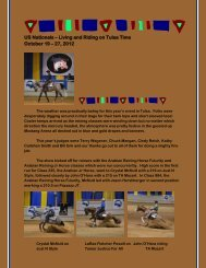 Living and Riding on Tulsa Time October 19 - Arabian Reining ...