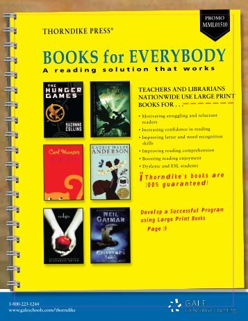 Books for everybody - Gale - Cengage Learning