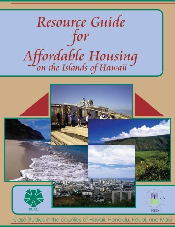 Resource Guide for Affordable Housing - Rural Community ...