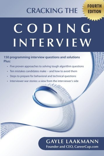 Cracking the Coding Interview - Fooo