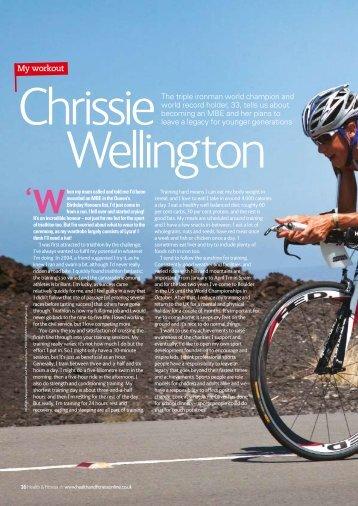 My workout - Chrissie Wellington