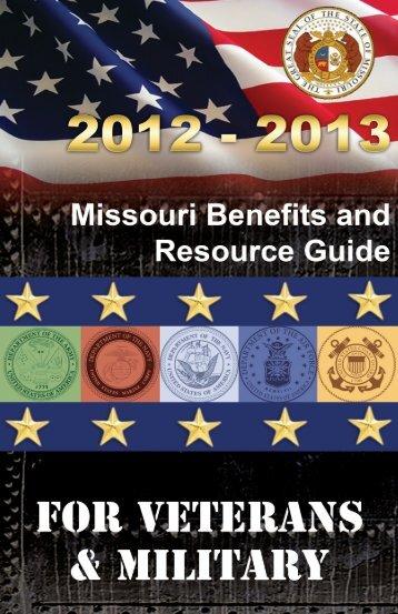 Licensing: Driver & Motor Vehicle - Missouri Veterans Commission