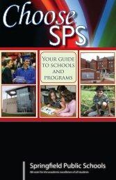 school? What programs - Springfield Public Schools