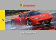 Corsi di Guida Pilota Ferrari - Ferrari Beverly Hills