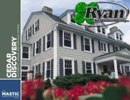 Mastic Vinyl Siding - Cedar Discovery Siding - Ryan Windows & Siding