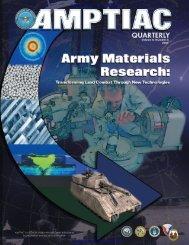 AMPTIAC Quarterly, Vol. 8, No. - Advanced Materials, Manufacturing ...