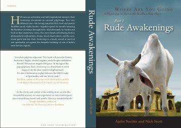 Rude Awakenings - Forest Sangha Publications