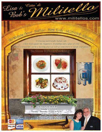 Sicilian Italian Cooking - Lisa & Bob's Citta di Militello
