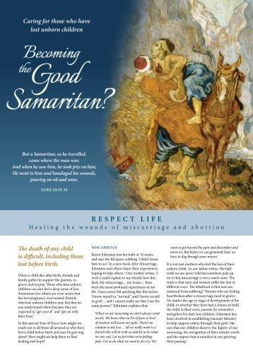 Respect Life Sunday 2012 - 2013 Brochure - Catholic Archdiocese ...