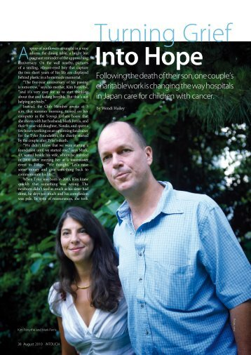 Turning Grief Into Hope - Tyler Foundation