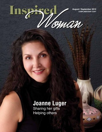 Joanne Luger - Inspired Woman Magazine