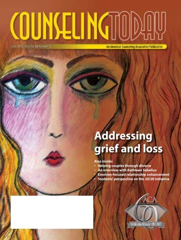 Addressing grief and loss - American Counseling Association