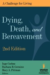 Dying, Death, ^/^Bereavement - Springer Publishing