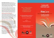 Firecare: Coping with Grief and Loss - Queensland Fire and Rescue ...