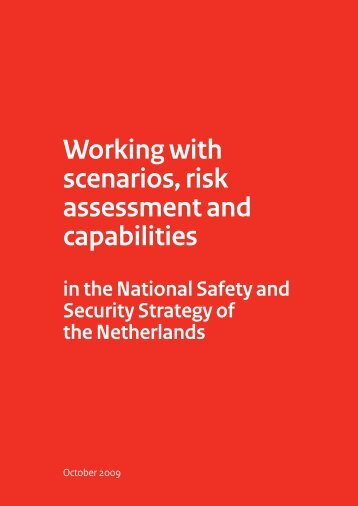 Working with scenarios, risk assessment and capabilities - LOCC