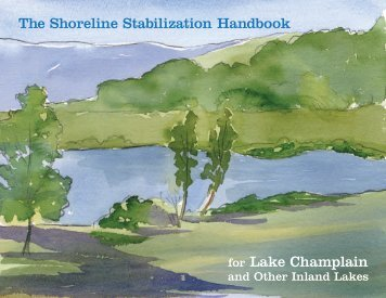 The Shoreline Stabilization Handbook for Lake Champlain
