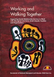 Supporting Family Relationship Services to Work with Aboriginal ...
