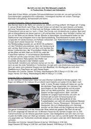 Bericht von den drei Worldloppet-Langläufe in Tschechien, Finnland ...