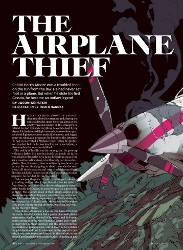 The Airplane Thief - Jason Kersten