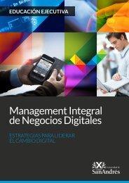 Management Integral de Negocios Digitales