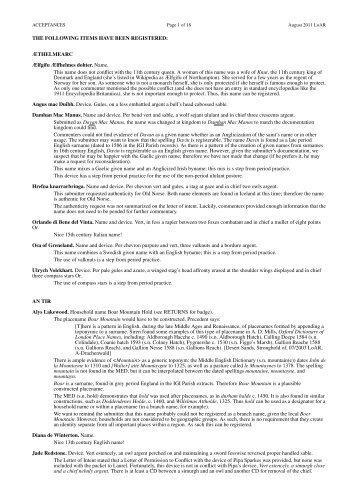 in PDF - SCA Heraldry