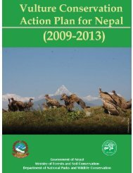 Vulture Conservation Action Plan for Nepal Final, 20 - SAVE Vultures