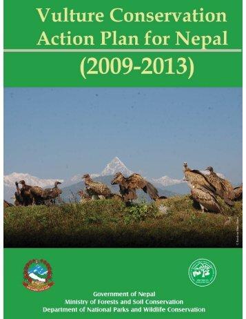 Vulture Conservation Action Plan for Nepal Final, 20 - SAVE Vultures