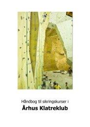 Håndbog til sikringskurser i - Århus Klatreklub