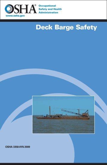 Deck Barge Safety - OSHA