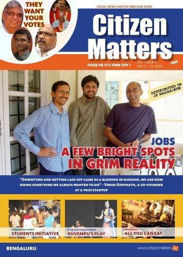 In gRIm REAlITY - Citizen Matters