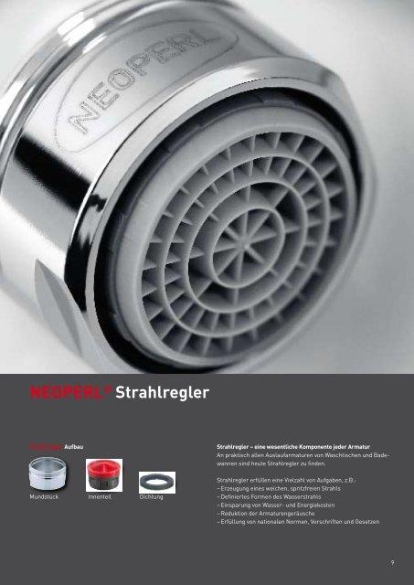 CHROMALUX® Brauseschläuche - Neoperl