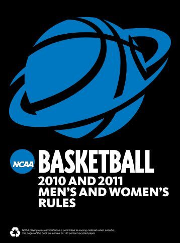 2010 and 2011 Men's and Women's Basketball Rules