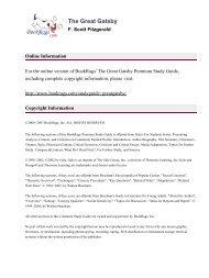 Gatsby the pdf macmillan great