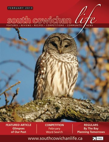 Download current edition - South Cowichan Life