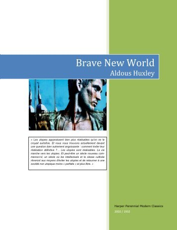 Brave New World | Novelguide