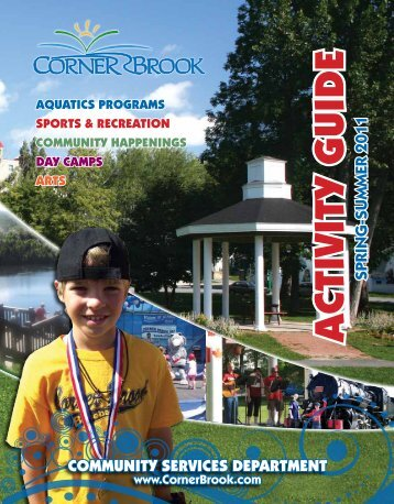 Activity GuideActivity Guide - City of Corner Brook