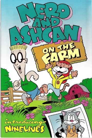Nero and Ashcan on the Farm Comic