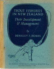 N.Z. MARINE DEPARTMENT-FISHERIE,S BULLETIN No. .į