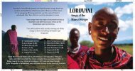 Spiritual and uplifting, Maasai and Swahili gospel songs, based on ...