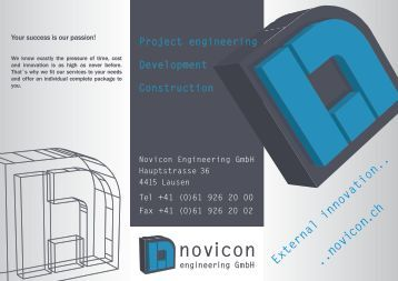 novico n.ch - novicon engineering GmbH