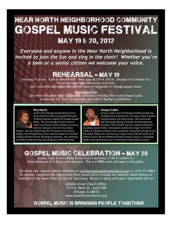 gospel music festival - LaSalle Street Church