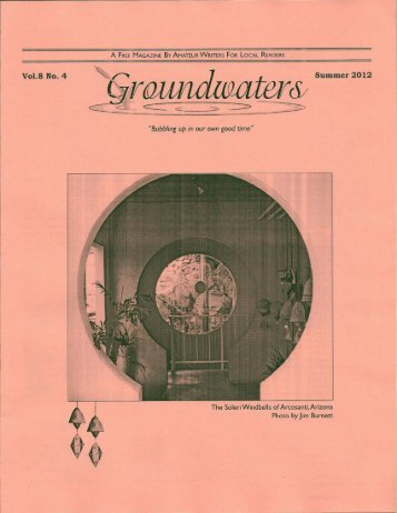 Volume 8 Issue 4 - Groundwaters Publishing