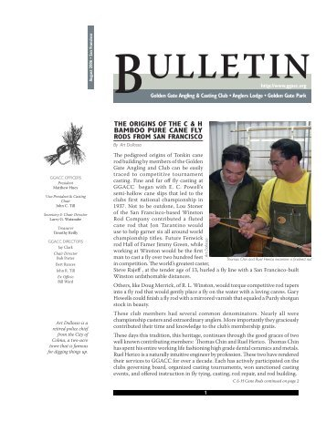 August 2006 Bulletin - Golden Gate Angling & Casting Club