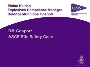 DM Gosport ASCE Site Safety Case - Adelard