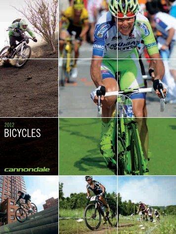Catálogo Cannondale 2012 - Amigos del ciclismo