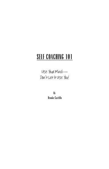 Self coaching 101 - The Life Coach School