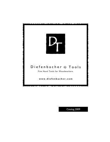 Download a Catalog - Diefenbacher Tools