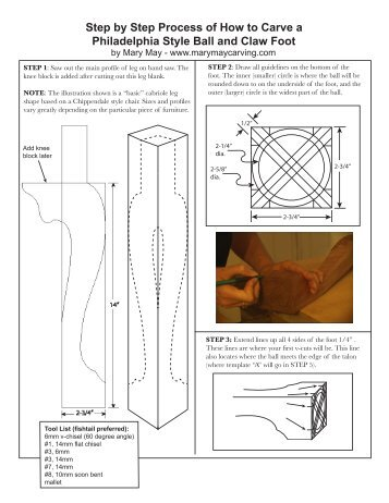 Step by Step Process of How to Carve a Philadelphia Style Ball and ...