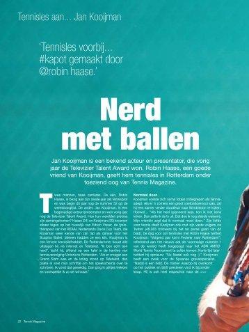 Tennis Magazine - Jan Kooijman